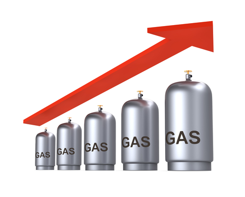rising business gas prices in the uk